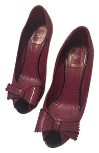 Dior Carmin/reddish purple Pumps