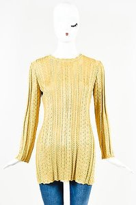 St. John Collection Metallic Sweater