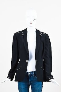 Thierry Mugler Silver Black Jacket