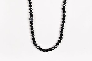 David Yurman David Yurman Sterling Silver Black Onyx Moonstone Osetra Necklace