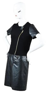 GERARD DAREL short dress Black Jersey on Tradesy