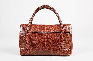 Nancy Gonzalez Rust Tote in Brown