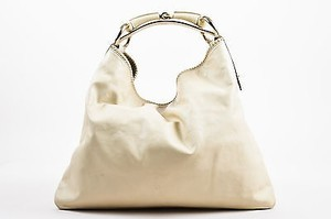 Gucci Leather Woven Hobo Bag