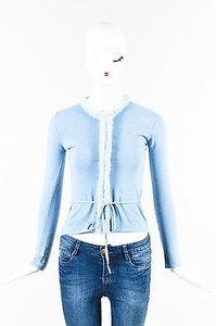 Blumarine Light Knit Fur Sweater