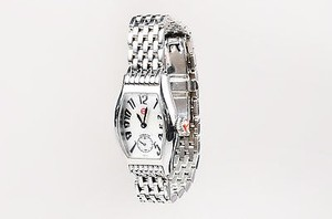 Michele Michele Stainless Steel Coquette Quartz Bracelet Watch With Four Bands