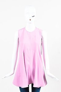 Marni Sleeveless Flare Top Pink