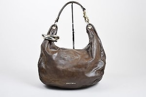 Jimmy Choo Leather Bracelet Hobo Bag