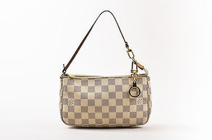 Louis Vuitton Cream Navy Shoulder Bag