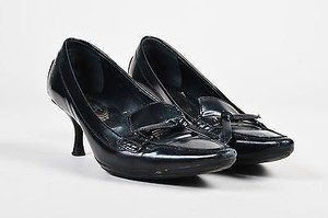 Tod's Tods Patent Leather Black Pumps