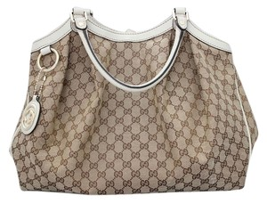 Gucci Sukey Monogram Large Shoulder Bag