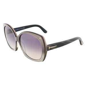 Tom Ford Tom Ford Champagne Pearl Oversized Sunglasses