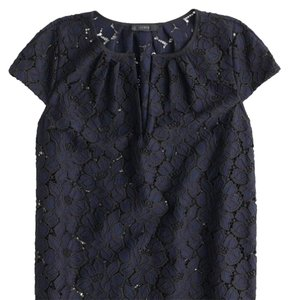 J.Crew Top Blue black