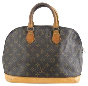 Louis Vuitton Boston Speedy Satchel in Monogram