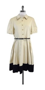 Kate Spade short dress Khaki Navy Cotton Shirt on Tradesy