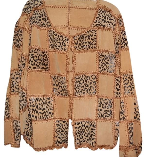 Preload https://item4.tradesy.com/images/tan-and-black-suede-animal-print-jacket-blazer-size-24-plus-2x-1952773-0-0.jpg?width=400&height=650