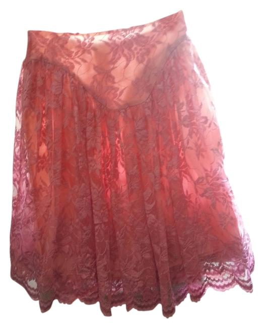 Betsey Johnson Vintage Skirt Pink