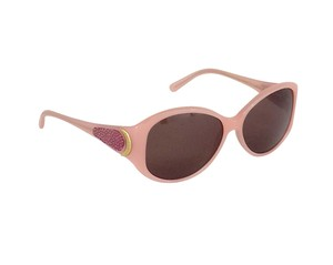 Givenchy Pink Embellished Round Sunglasses