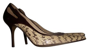 Dolce&Gabbana Pointed Toe Brown Pumps