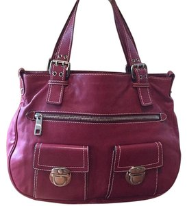 Marc Jacobs Satchel in Wine