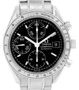 Omega Omega Speedmaster Date Automatic Blach Dial Watch 3513.50.00 Year 2006
