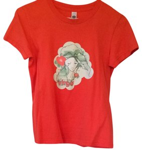 American Apparel T Shirt Orange