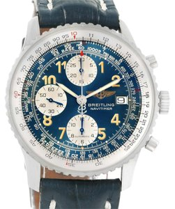 Breitling Breitling Navitimer II Blue Dial Automatic Steel Watch A13022