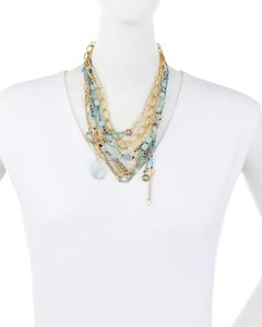 Alexis Bittar Alexis Bittar Golden Multi-Strand Mixed Crystal: MSRP $575