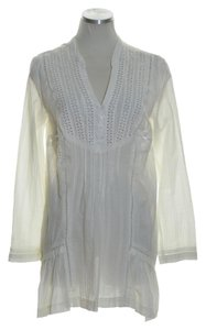 Free People Woven Lace Long Sleeve Tunic