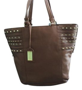 Badgley Mischka Nwt Leather Tote in Camel