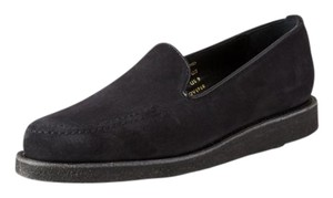 Steven Alan Loafer Blue suede Flats
