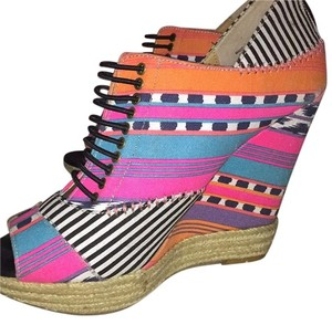 Chinese Laundry Multi-Color Wedges