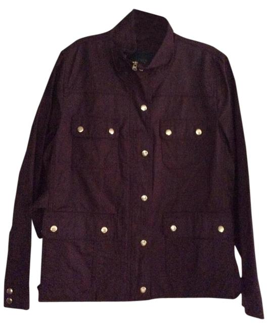 Item - Deep Burgundy Downtown Field Jacket Size 12 (L)