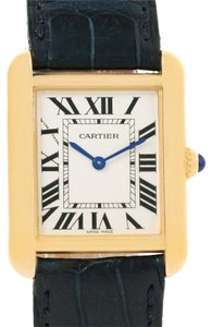 Cartier Cartier Tank Solo Small 18K Yellow Gold and Steel Watch W1018755