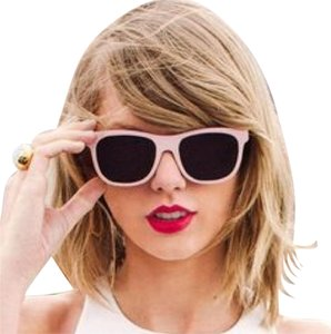 Taylor Swift Free Ship Sold Out Pink T.S. 1989 Sunglasses Case Cloth