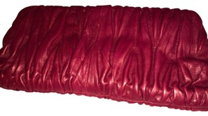 Steven by Steve Madden Burgundy Clutch