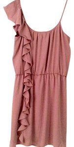 Piperlime Ruffle Pink Collective Concepts Strappy Dress