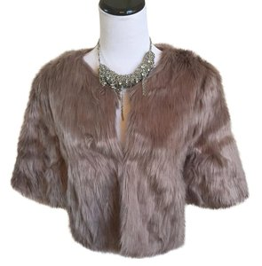 BCBGeneration Fur Coat