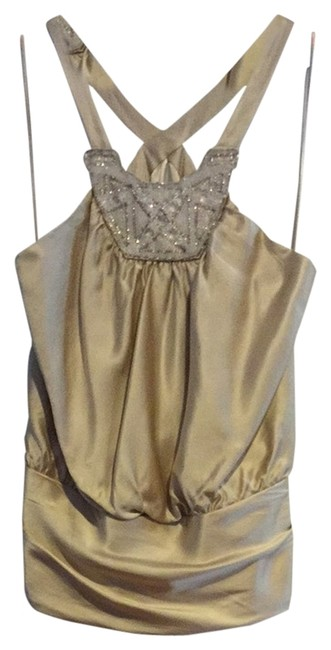 Marc Bouwer Top Beige/gold