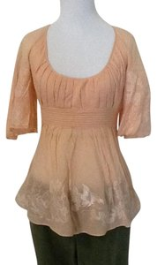 Catherine Malandrino Dry Clean Top Light orange pink
