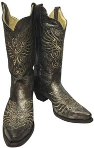Corral Boots Metallic Bronze Boots