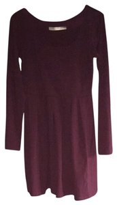 Susana Monaco short dress plum on Tradesy