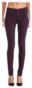 Rag & Bone Skinny Pants Wine