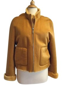 The Lamb Leather Ralph Lauren Shearling Mango Leather Jacket