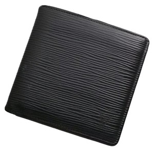 Louis Vuitton Louis Vuitton Black EPI Bifold Wallet