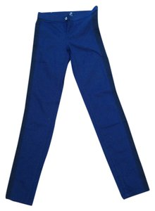 H&M Stretchy Denim Jegging Elastic Skinny Pants Blue