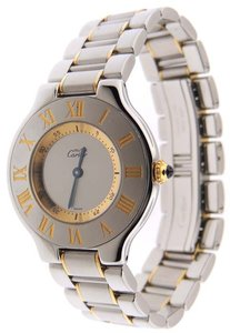 Cartier Cartier Must 21 Yellow Gold and Stainless Steel 31mm 1330 Watch