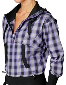 Lululemon Lululemon Purple Plaid Run Reflection Jacket