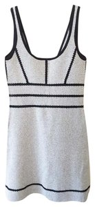 Rag & Bone short dress navy & white Crochet Two-tone A-line Fitted Contrast on Tradesy