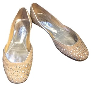 Valentino Cream and glitter Flats