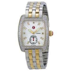Michele Michele Urban Mini Diamond Bezel Ladies Watch